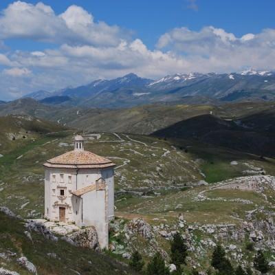 Wanderreise Abruzzen: Rocca Calascio
