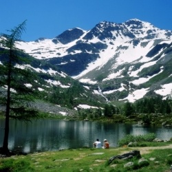 Genuss-Wandern in Aosta: Lago d'Arpy