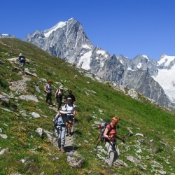 Panoramawanderungen in Aosta