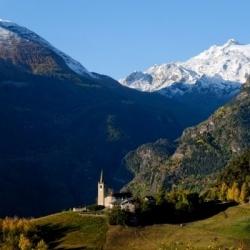 Wandern in Italien: Aosta, S. Nicola und Ruitor