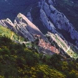 Wandern in der Basilikata: Die Lukaner Dolomiten, Castelmezzano