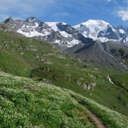 Trekking-Touren in Italien und Wallis: Berg- und Talwanderungen rund um Grand Combin Massiv