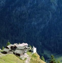 Auf dem großen Walserweg: Hoch über Gressoney Tal, Aosta