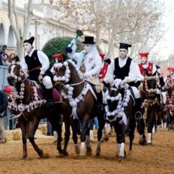 Winter auf Sardinien: Reiterfest in Oristano