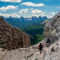 Die Dolomiten von Belluno: Umrundung von Pelmo