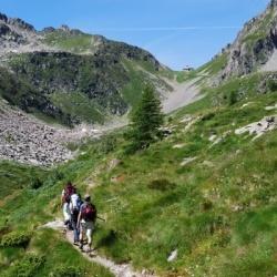 Trekking entlang von Monte Rosa Massiv: Von Allagna nach Gressoney: Colle Valdobbia